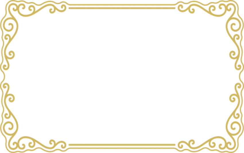 Gold borders png clipart images gallery for free download.