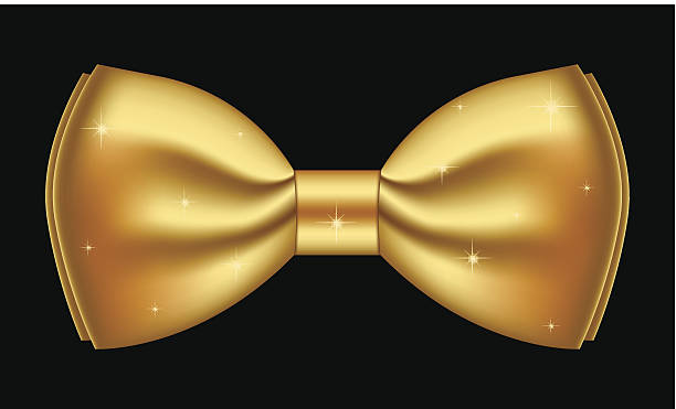 Gold Bow Tie Clipart.