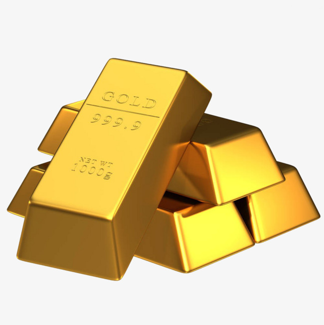 Gold Brick Clipart.