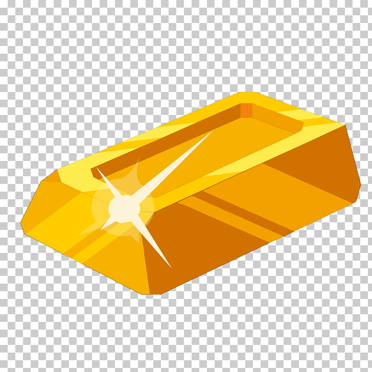 Gold Brick Cartoon, Cartoon gold brick PNG clipart.