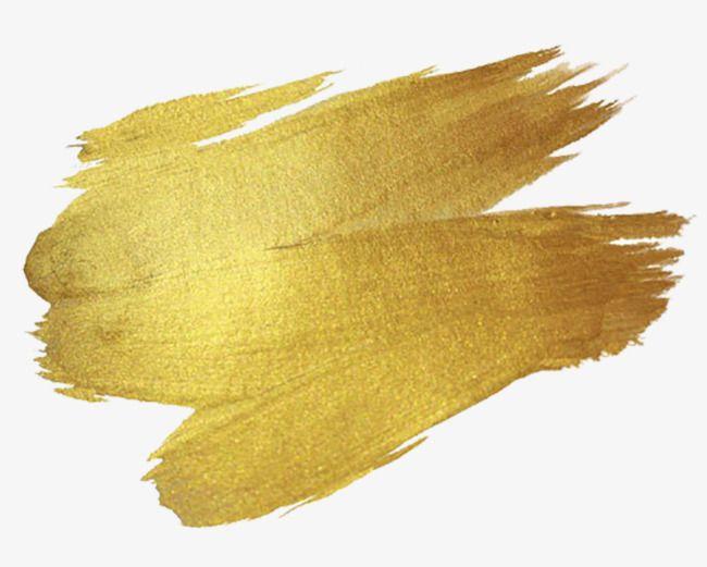 Gold Brush, Brush Clipart, Gold, Brush PNG Transparent.