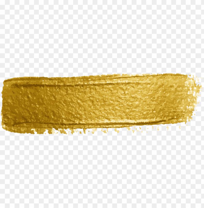 ftestickers watercolor paint brushstroke gold.