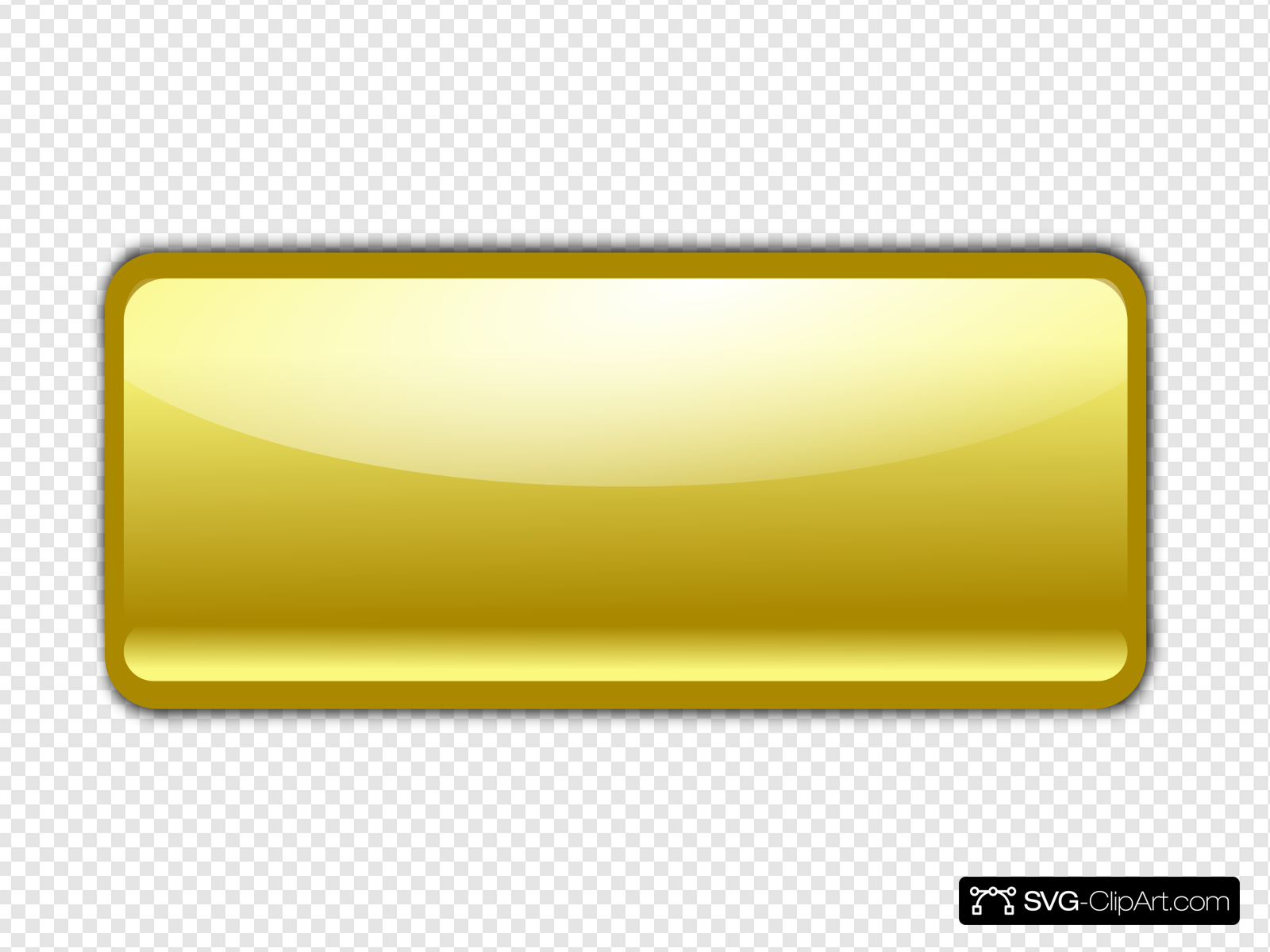 Gold Button Clip art, Icon and SVG.