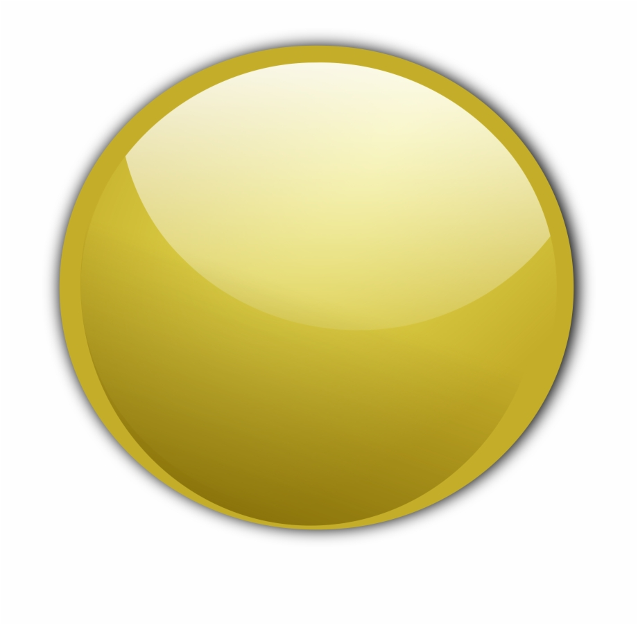 Button Gold Vector Free PNG Images & Clipart Download #1279772.