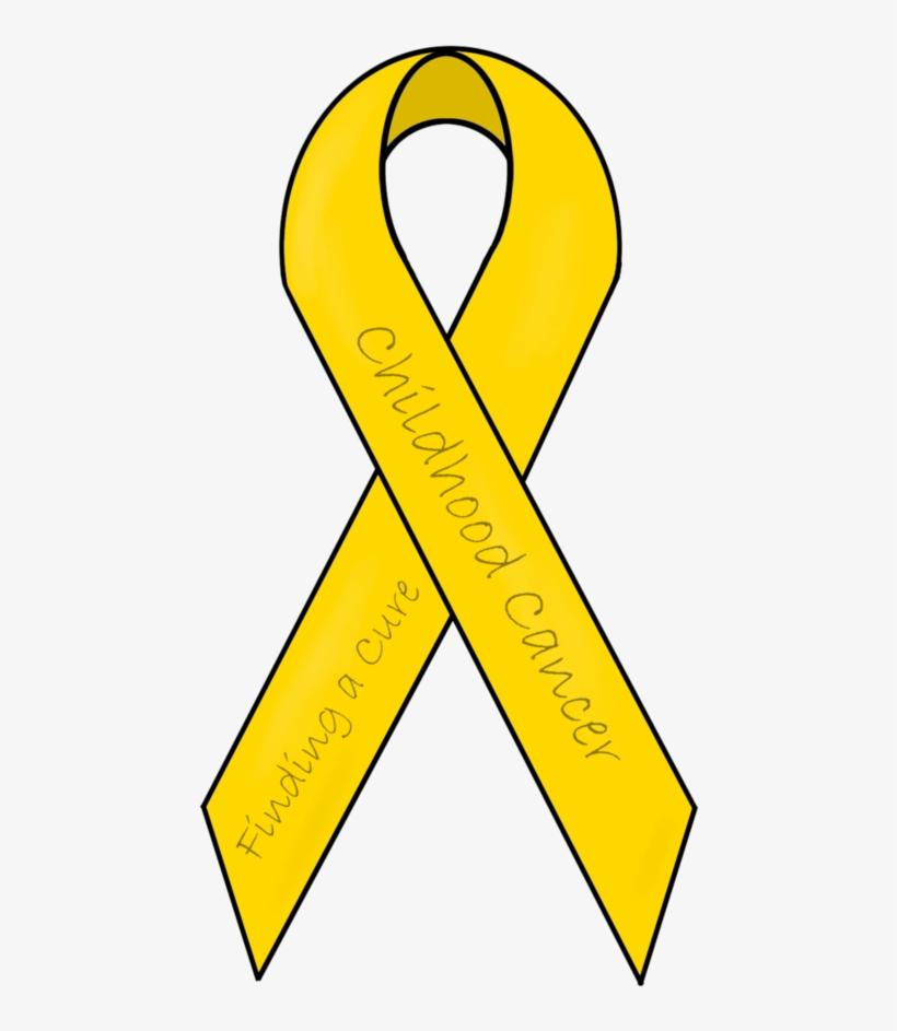 Gold Clipart Awareness Ribbon.