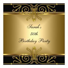 Vintage style Red and gold Carpet Event ticket party invitation.