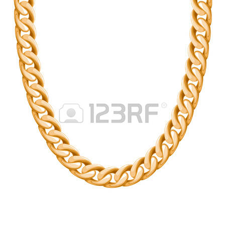 5,977 Gold Chain Stock Vector Illustration And Royalty Free Gold.