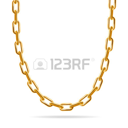 5,829 Gold Chain Stock Vector Illustration And Royalty Free Gold.