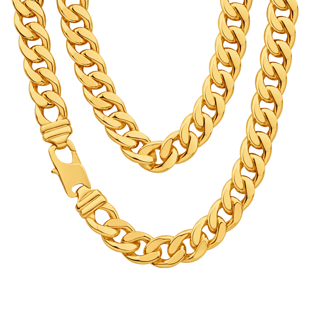 Chain Gold Necklace Clip art.