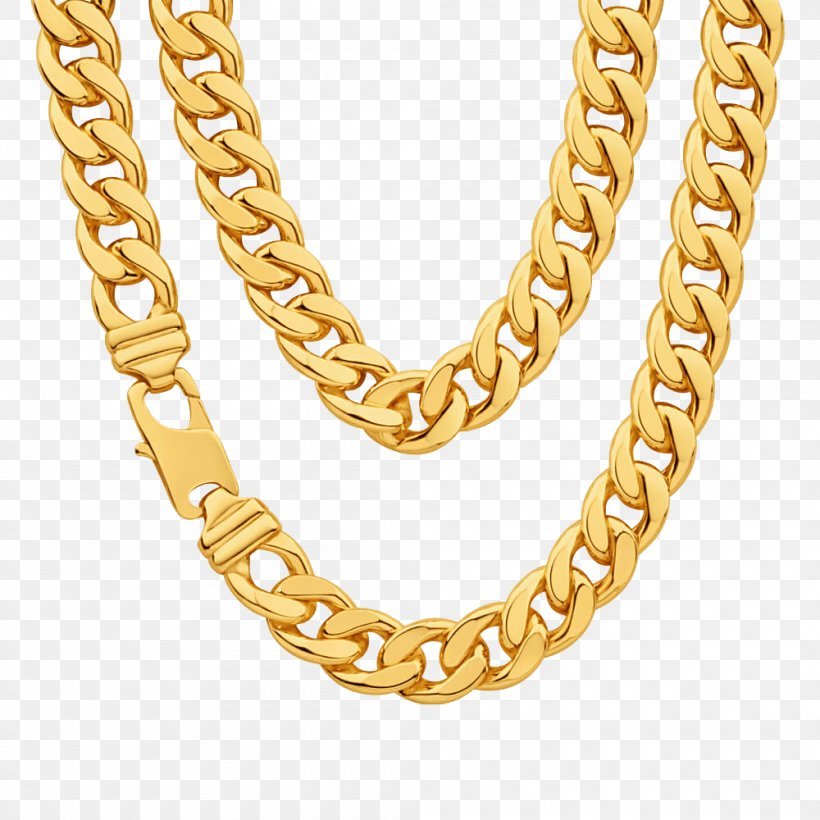 Chain Gold Necklace Clip Art, PNG, 1000x1000px, Chain, Body.