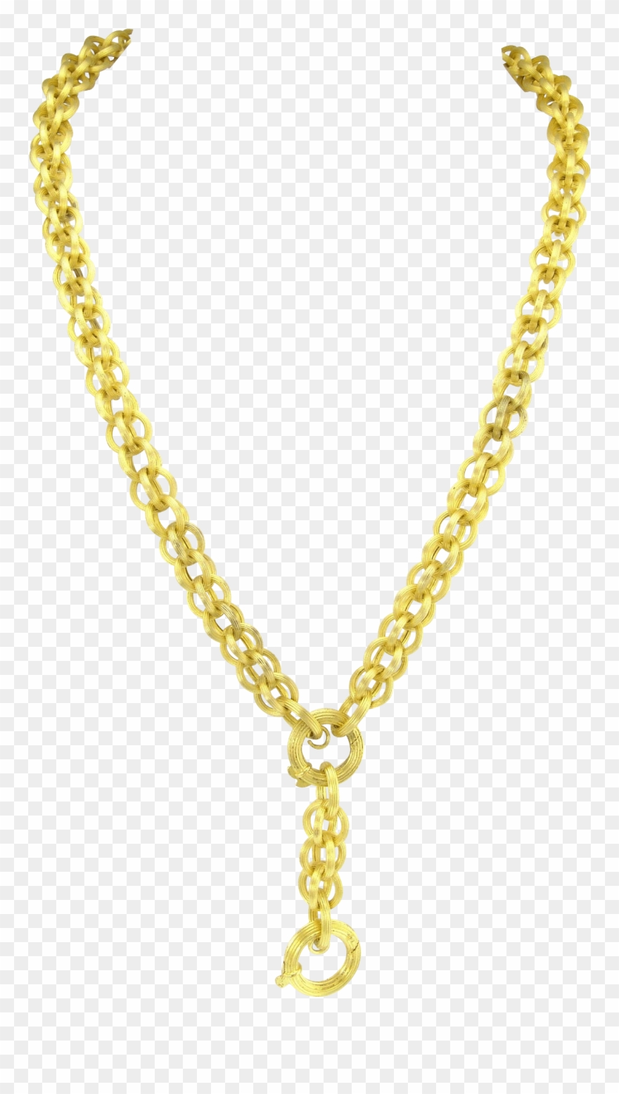 Gold Chain Clip Art.