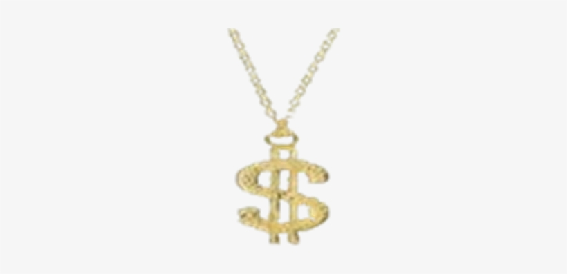 Gold Chain Dollar Sign Png Png Free.