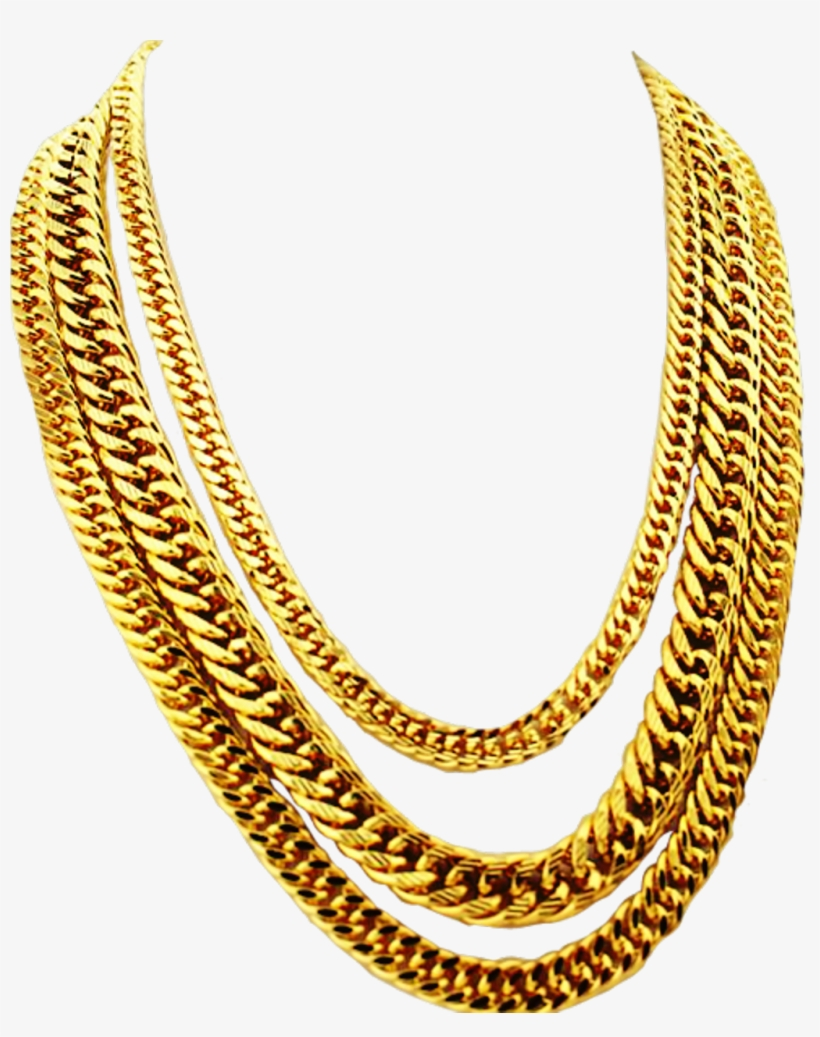 Gold Chain Png Hd.