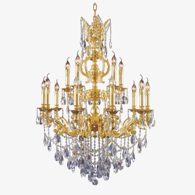Chandelier, Gorgeous, Continental, Crystal PNG Transparent Image and.