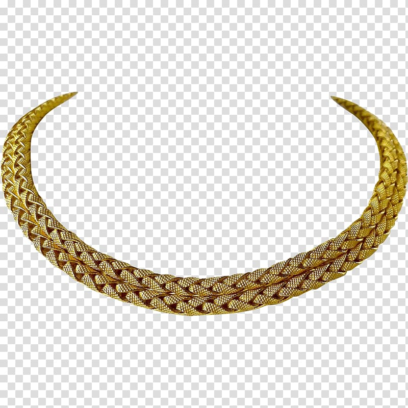 Necklace Choker Jewellery chain Colored gold, necklace transparent.