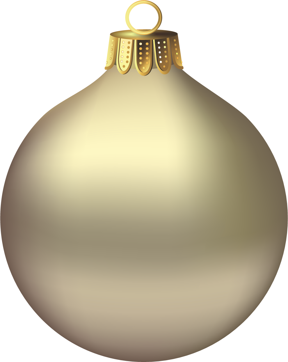 Free Gold Christmas Ornaments Png, Download Free Clip Art.