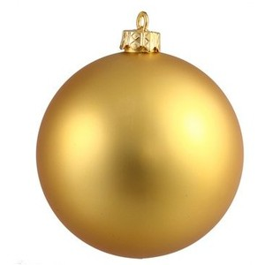 Gold Christmas Ornaments Clipart.