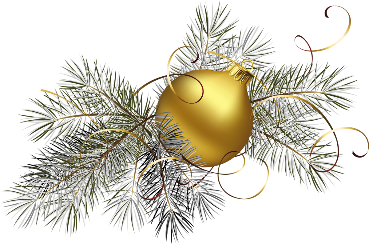 Gold Christmas Clip Art.