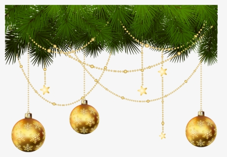Free Christmas Ornaments Clip Art with No Background.