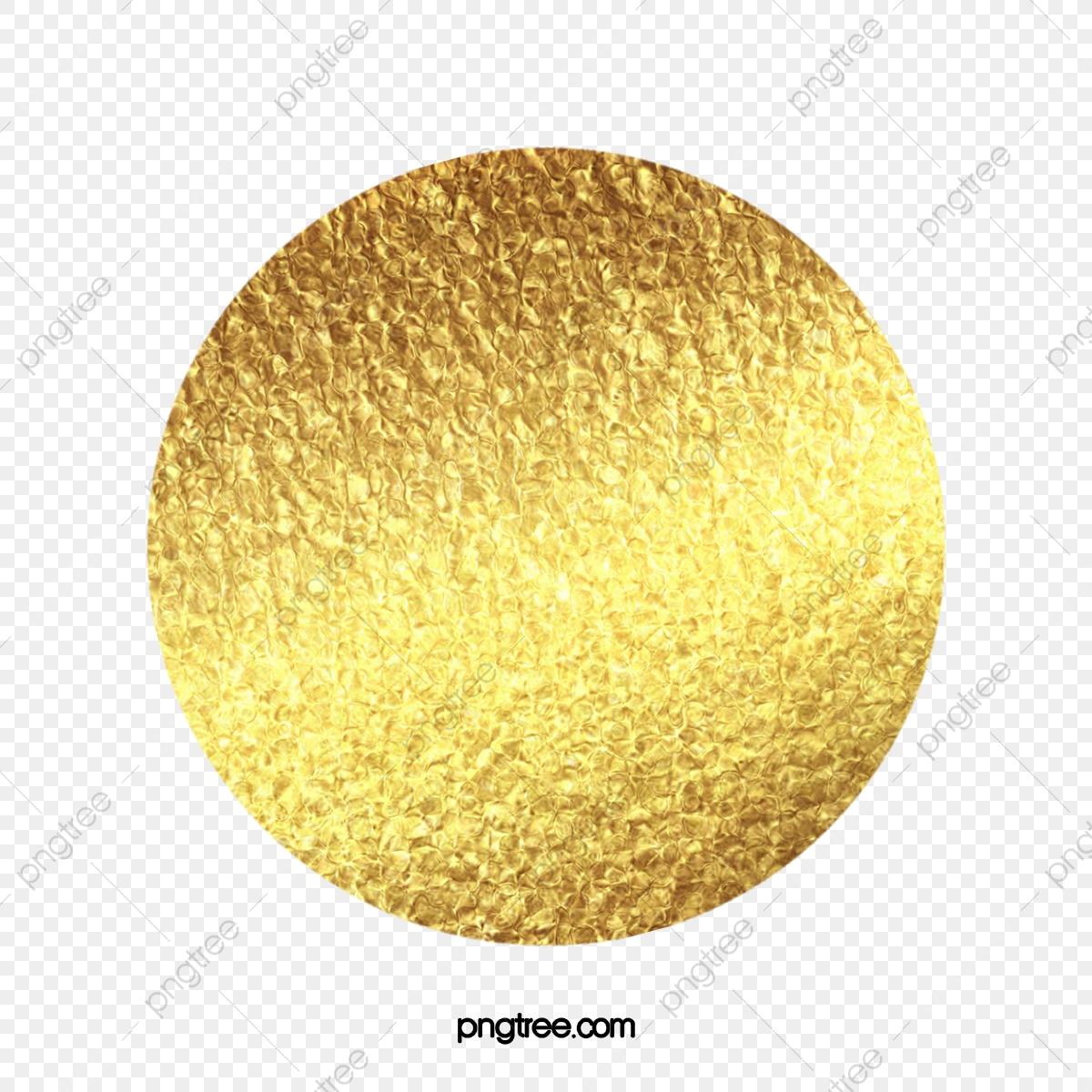 Gold Circle Creative, Circle Clipart, Golden, Circles PNG.