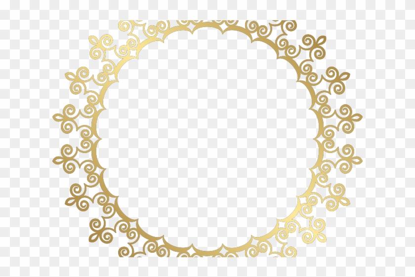 Decorative Line Gold Clipart Png.