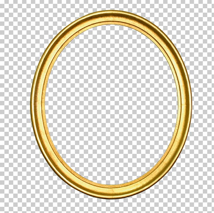 Oval Gold Circle Frames Silver PNG, Clipart, Bangle, Body Jewelry.