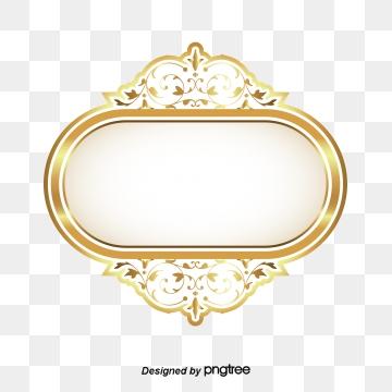 Golden Circle PNG Images.