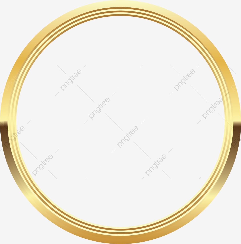 Gold Circle Line, Circle Clipart, Gold Circle, Goldcircle PNG and.