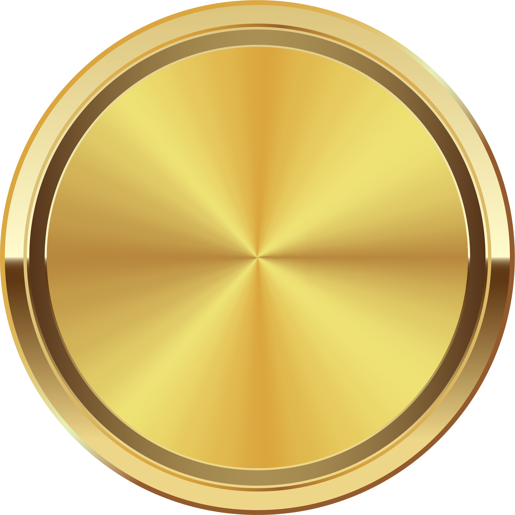 Gold circle png clipart images gallery for free download.