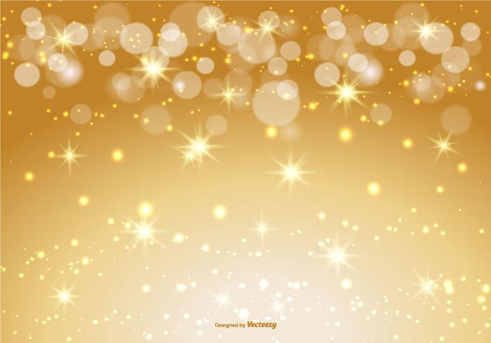 Beautiful Gold Bokeh/Sparkle Background.
