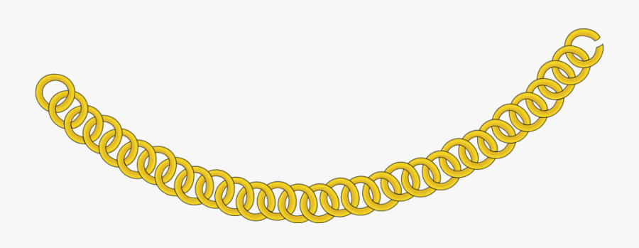 Transparent Rapper Chain Png.