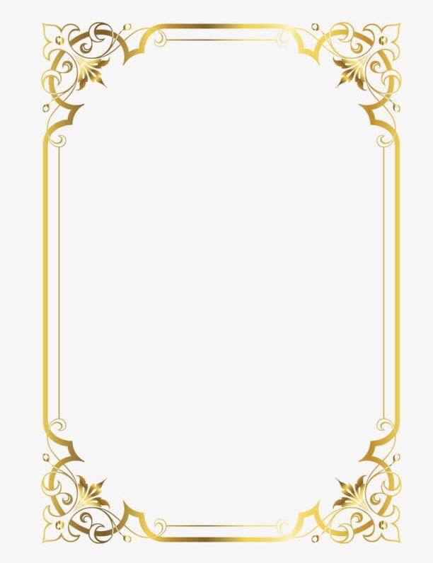 Gold Frame PNG, Clipart, Frame, Frame Clipart, Gold Clipart.
