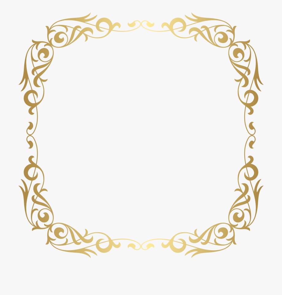 Gold Frame Border Png Frame Frame Clipart Gold Border.