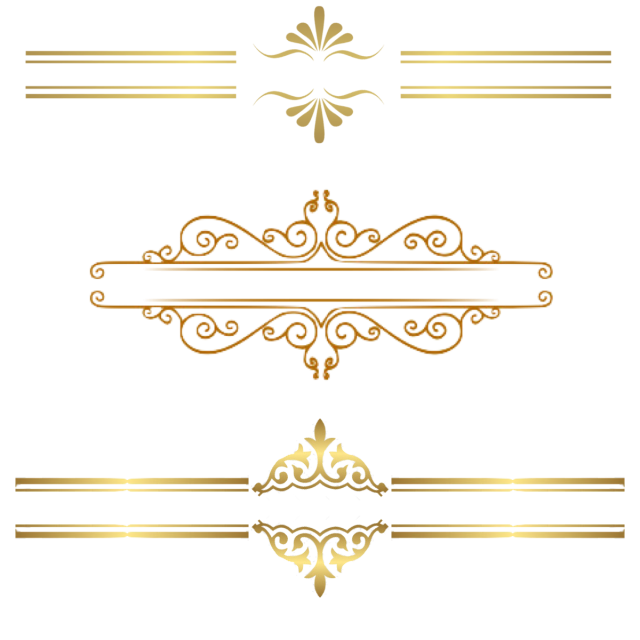 Gold Border Clipart Png Png Free Download, Lace, Gold Lace.