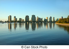 Stock Photo of Broadwater Gold Coast.