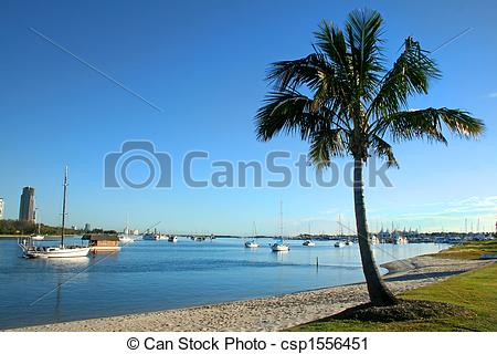Stock Photography of Broadwater Gold Coast.