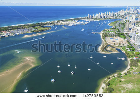 Gold Coast Australia Stock Photos, Royalty.