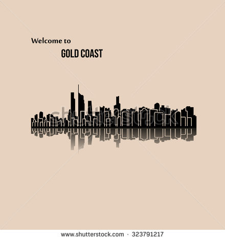 Clipart gold coast.