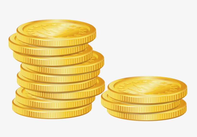 Coins Vector Gold.