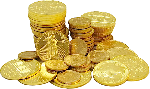 Gold Coins Png Image, Gold Png Free Clipart.