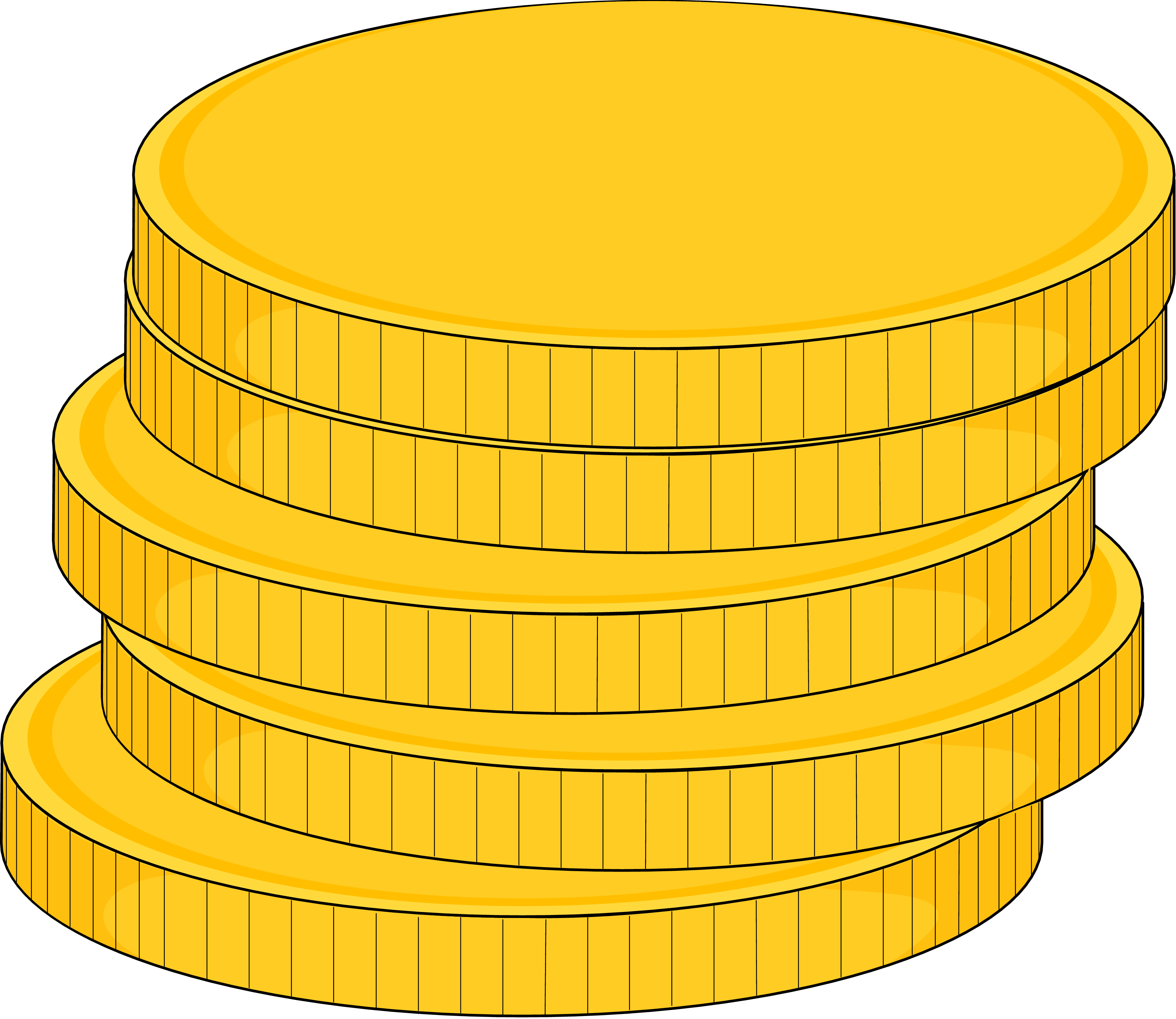 gold coin clipart png - Clipground