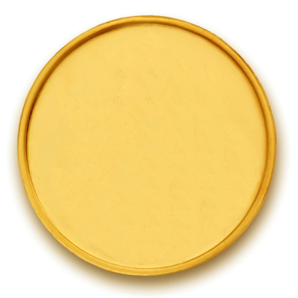 1 gm Plain Gold Coin.
