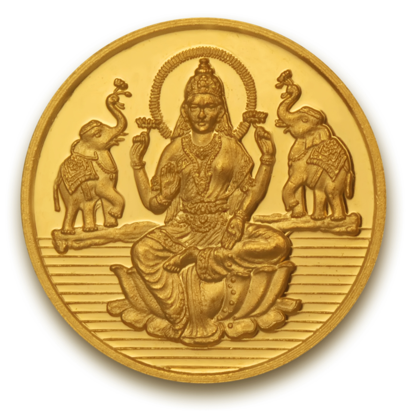 5 gms Laxmi shree Gold Coin.