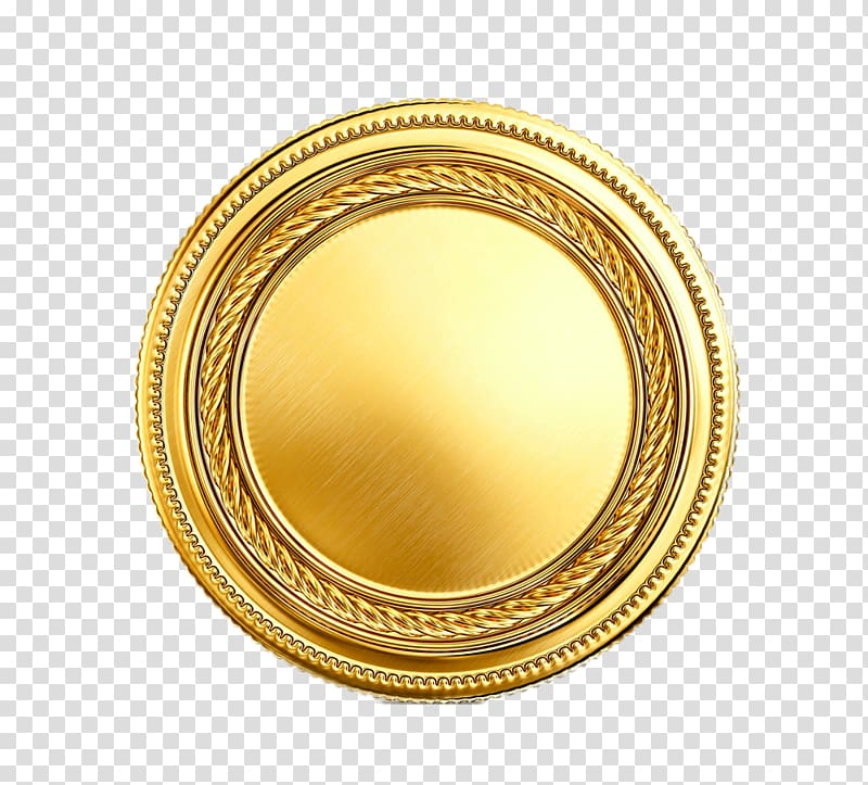 Gold coin Icon, HD Gold transparent background PNG clipart.