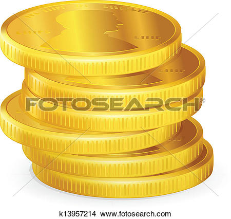Gold coins Clipart and Illustration. 17,924 gold coins clip art.