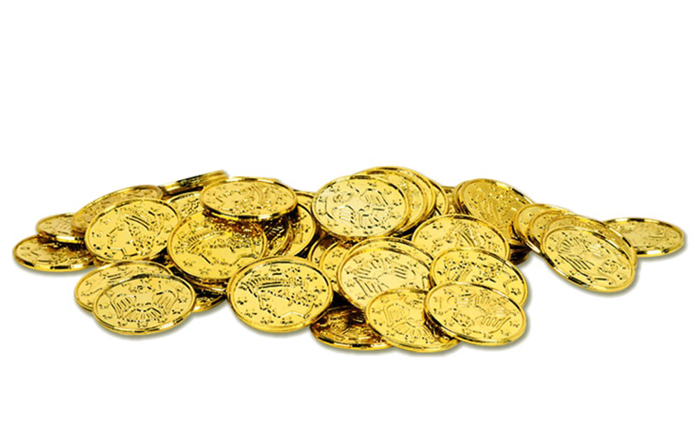 Gold Coin PNG HD.