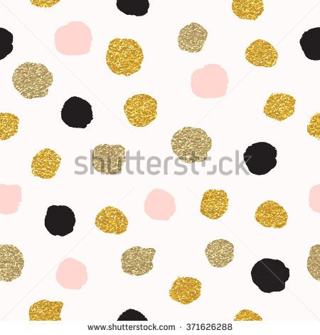 Clipart color black gray gold dotted wallpaper.