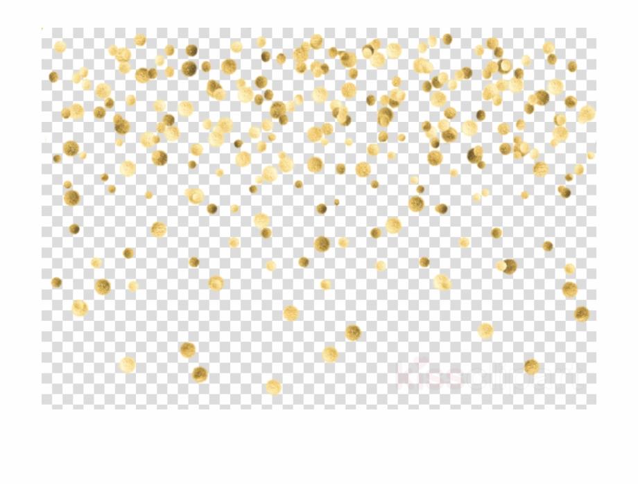 Gold Confetti Png.