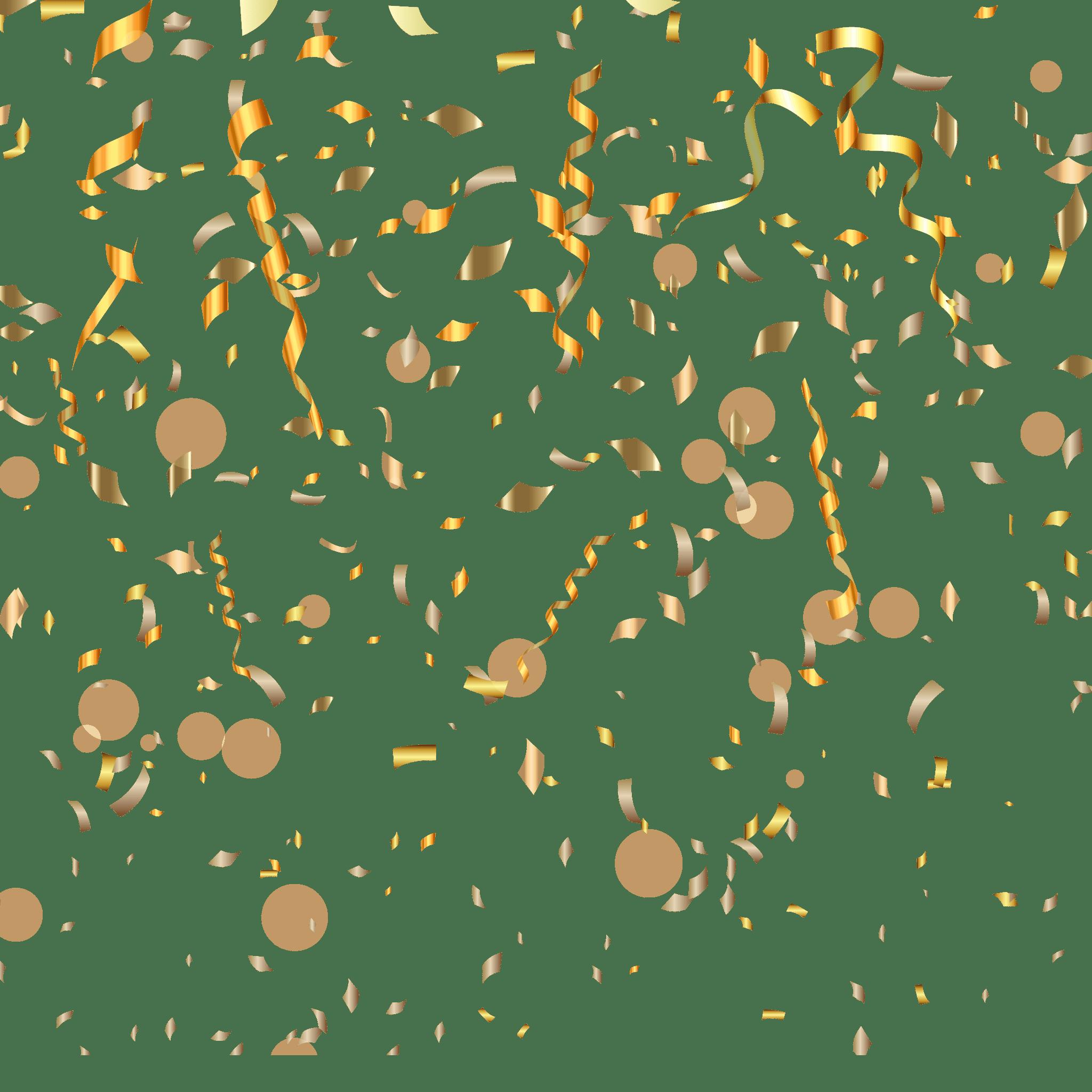 Gold Confetti PNG Min.