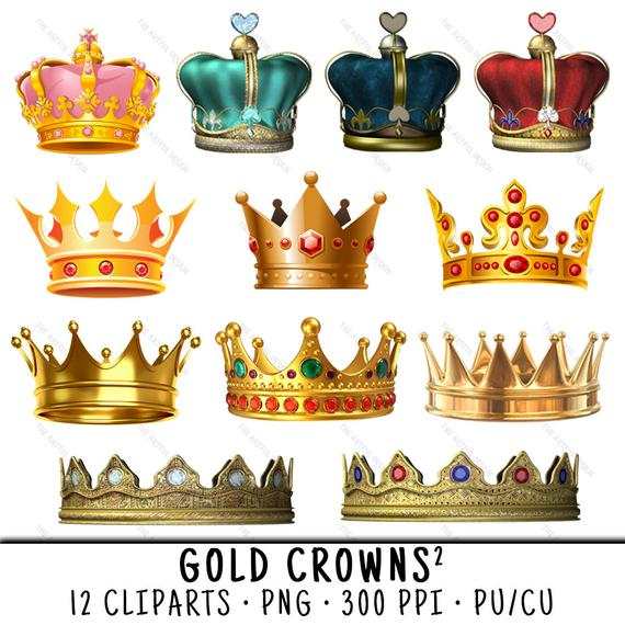 Crown Clipart, Gold Crown Clipart, Crown Clip Art, Gold Crown Clip Art,  Crown PNG, Gold Crown PNG, Clipart Gold Crown, Gold Crowns.